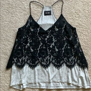 Anthropology modal lace tank small